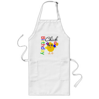 Birthday Chick 18 Years Old Aprons