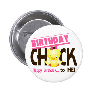 Birthday Chick 1 Buttons
