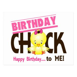 Birthday Chick 1 Postcard