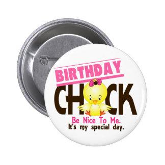 Birthday Chick 2 Pinback Button
