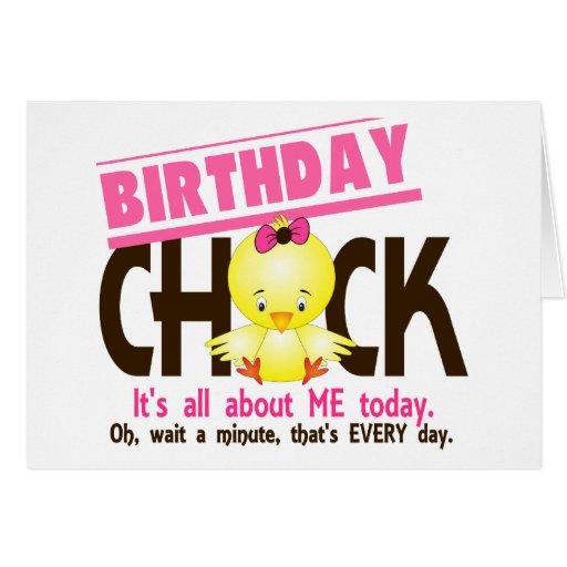 Birthday Chick 3 Cards