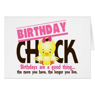 Birthday Chick 4 Card