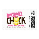 Birthday Chick 4 Stamps