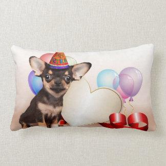 Birthday Chihuahua dog Pillow