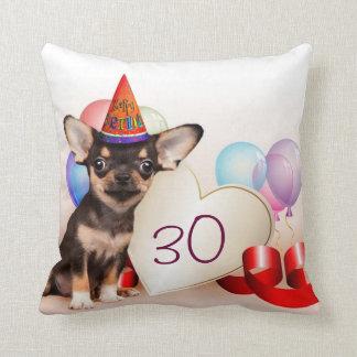 Birthday Chihuahua dog Pillows