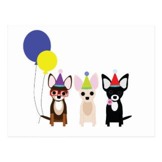 birthday-chihuahuas-stelieandco postcard