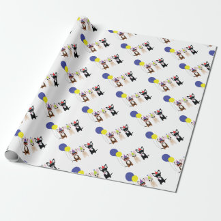 birthday-chihuahuas-stelieandco wrapping paper