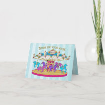 Birthday - Child - Carousel - Fun for any child Card