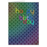 Birthday circles cards