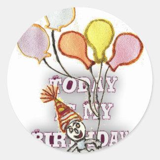 Birthday Classic Round Sticker
