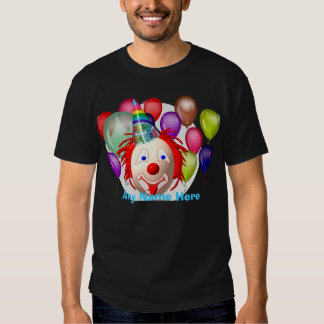 Birthday clown, Customize T-shirt