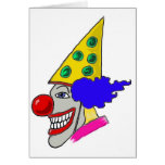 Birthday Clown Gifts Cards