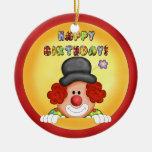 Birthday Clown Ornament