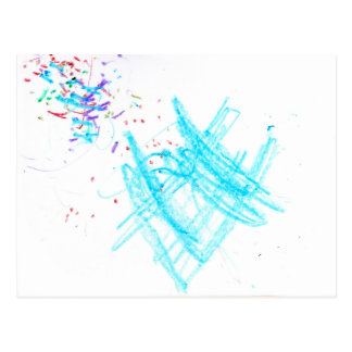Birthday Confetti - Postcard