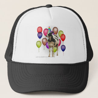 Birthday Cow Theme Party Trucker Hat