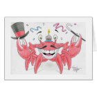 Birthday Crab Card