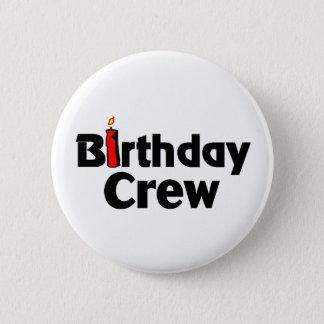 Birthday Crew Button