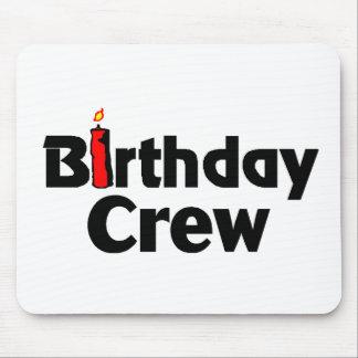 Birthday Crew Mousepad