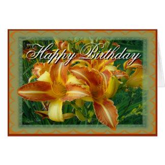 Birthday-crnflw-customize Greeting Card
