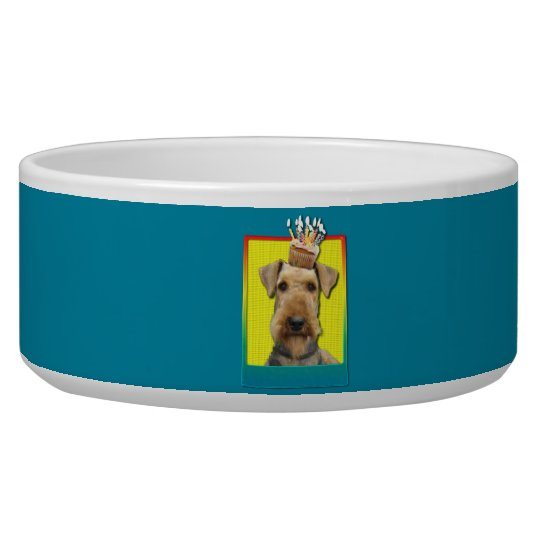 Birthday Cupcake - Airedale Bowl