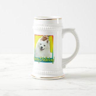 Birthday Cupcake - American Eskimo Beer Stein