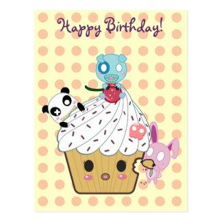 Birthday Cupcake Attack Post Cards