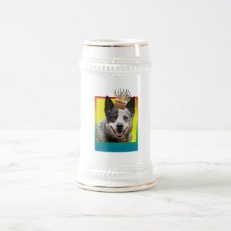 Birthday Cupcake - Australian Cattle Dog Beer Stein
