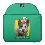 Birthday Cupcake - Australian Cattle Dog MacBook Pro Sleeve