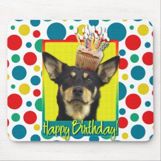 Birthday Cupcake - Australian Kelpie - Jude Mouse Pad