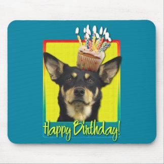Birthday Cupcake - Australian Kelpie - Jude Mousepad