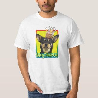 Birthday Cupcake - Australian Kelpie - Jude T-Shirt