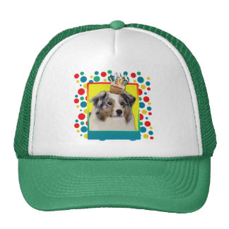 Birthday Cupcake - Australian Shepherd Trucker Hat