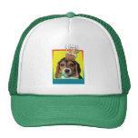 Birthday Cupcake - Beagle Puppy - Chloe Hat