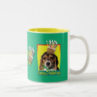 Birthday Cupcake - Beagle Puppy - Chloe Coffee Mugs