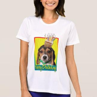 Birthday Cupcake - Beagle Puppy - Chloe Tshirt