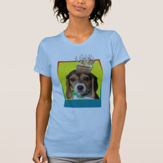 Birthday Cupcake - Beagle Puppy - Chloe T-shirts