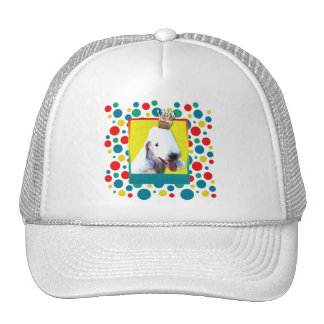 Birthday Cupcake - Bedlington Terrier Trucker Hat