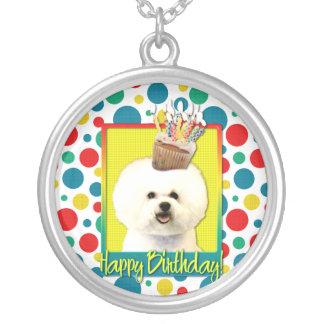 Birthday Cupcake - Bichon Frise Pendant
