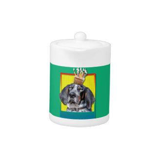 Birthday Cupcake - Bluetick Coonhound - Chuck