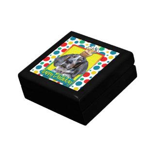 Birthday Cupcake - Bluetick Coonhound - Chuck Jewelry Boxes