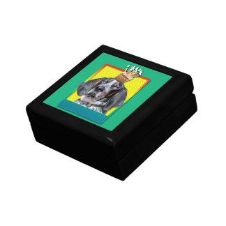Birthday Cupcake - Bluetick Coonhound - Chuck Trinket Boxes