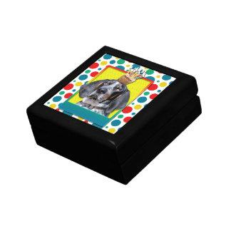 Birthday Cupcake - Bluetick Coonhound - Chuck Gift Box