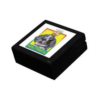 Birthday Cupcake - Bluetick Coonhound - Chuck Keepsake Boxes