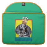 Birthday Cupcake - Bluetick Coonhound - Chuck Sleeve For MacBooks