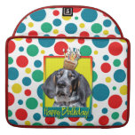 Birthday Cupcake - Bluetick Coonhound - Chuck MacBook Pro Sleeves