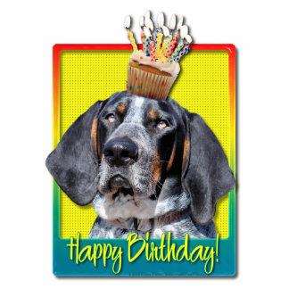 Birthday Cupcake - Bluetick Coonhound - Chuck Photo Cut Out
