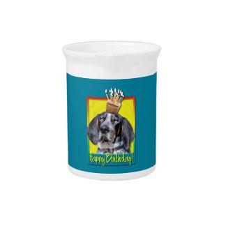Birthday Cupcake - Bluetick Coonhound - Chuck Pitchers
