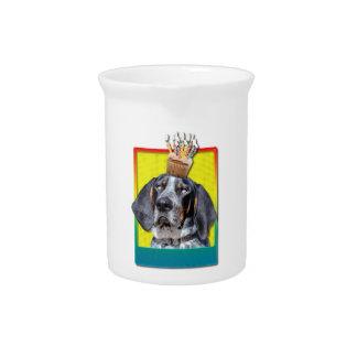 Birthday Cupcake - Bluetick Coonhound - Chuck Pitcher