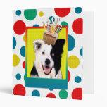 Birthday Cupcake - Border Collie Binders