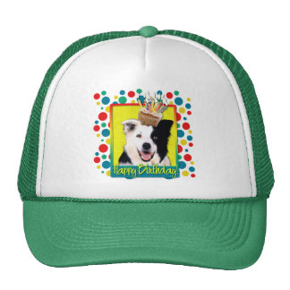 Birthday Cupcake - Border Collie Trucker Hat